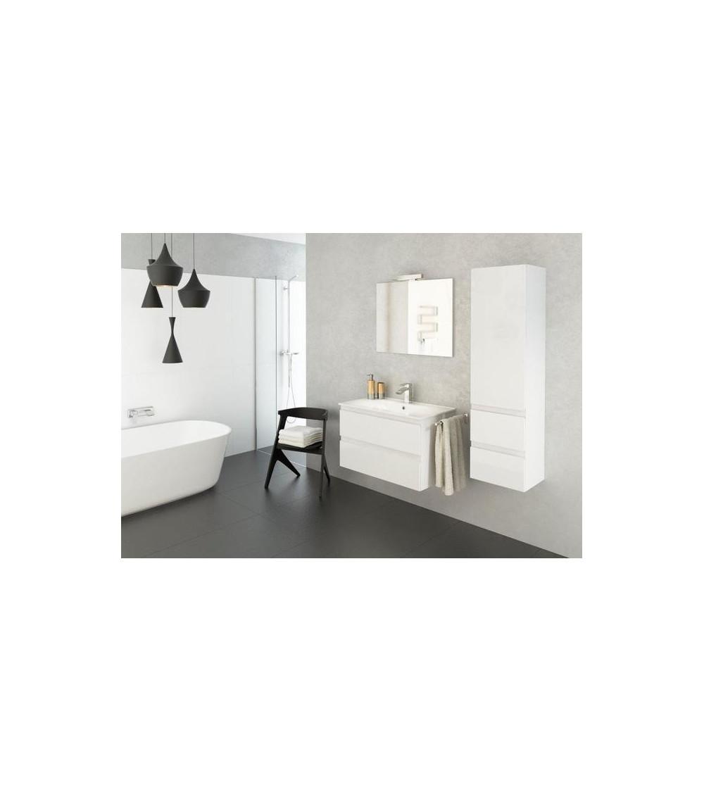Meuble de salle de bain COMO blanc 80cm
