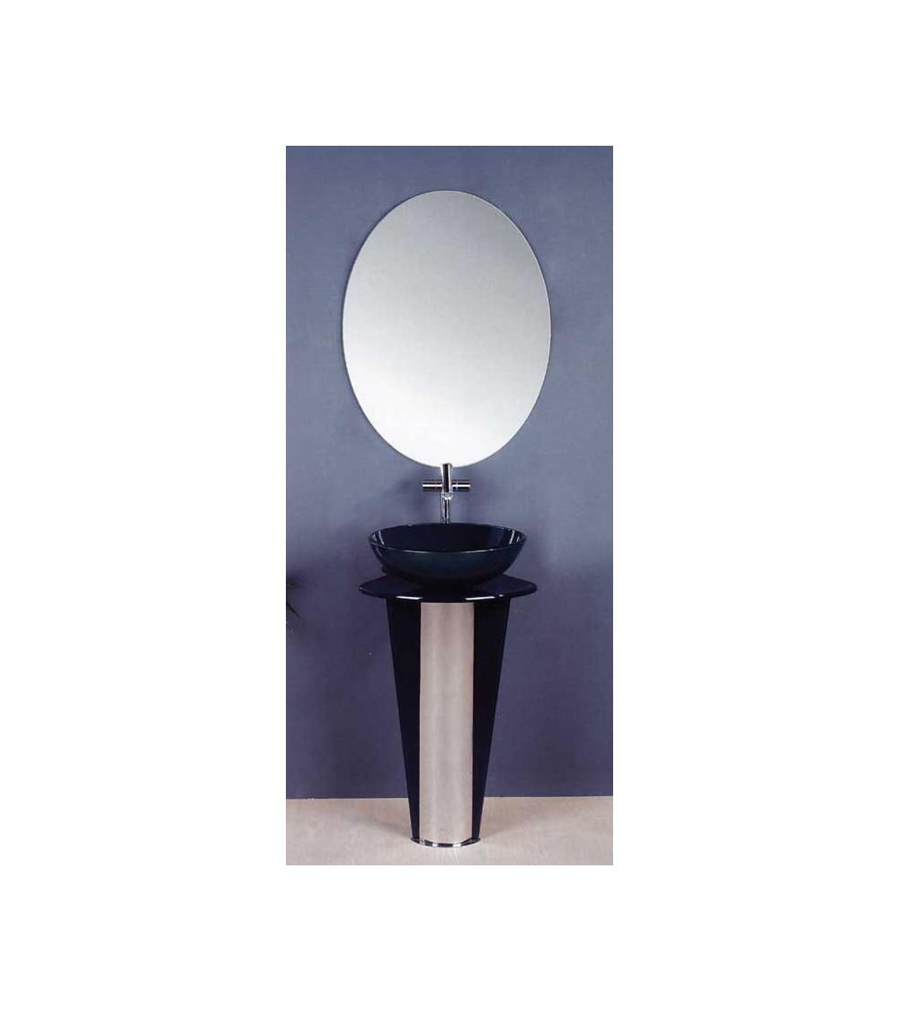 Meuble de salle de bain VIGO, noir