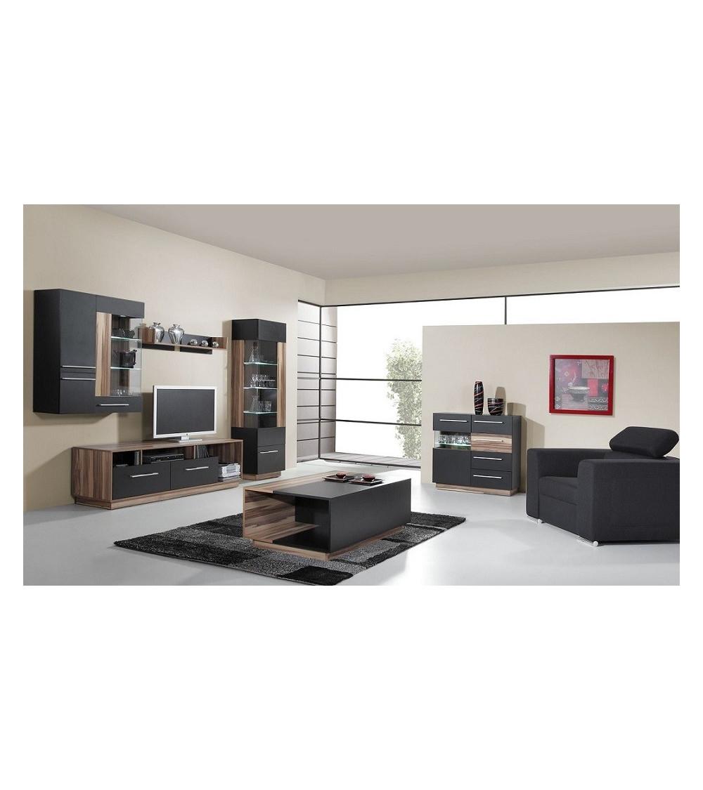 Conjunto mueble TV MONSUN 180 cm