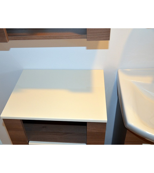 TALIA  bathroom furniture 60cm, natural