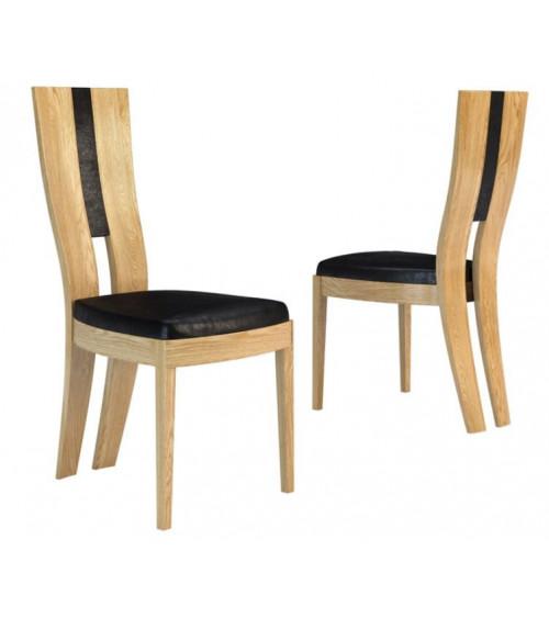salle à manger complète CORINO chêne clair