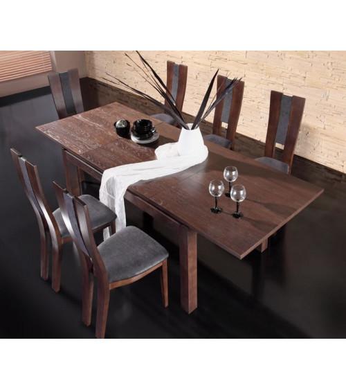 dining room set CORINO brown