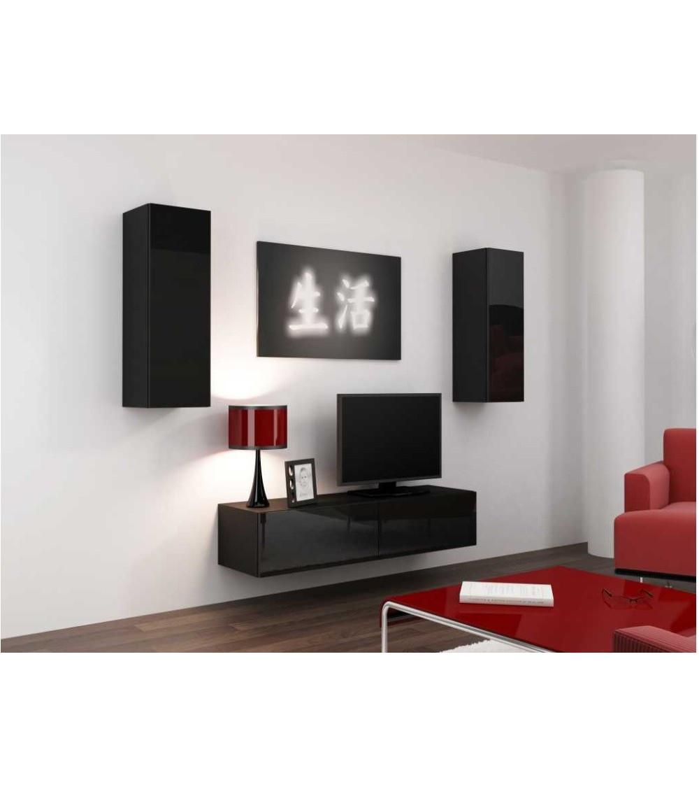 VIGO SET 140  TV Storage , black or white