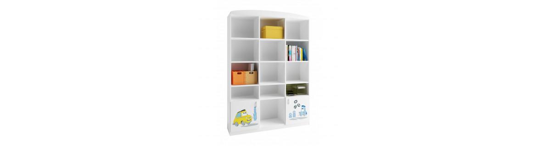 Librerías y muebles organizadores para niños