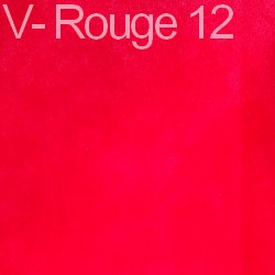Velours - rouge 12