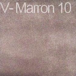 Velours - Marron 10